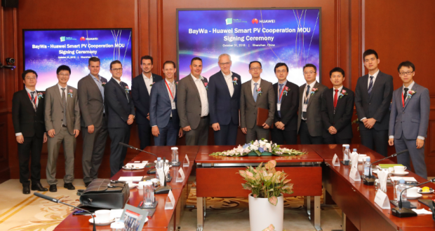 Baywa R E And Huawei Join Forces To Drive Global